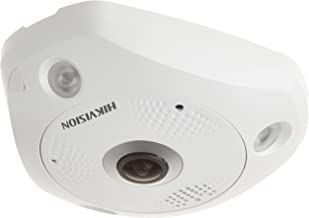 Hikvision DS-2CD6332FWD-I Indoor IP Panaramic Camera, 180/360 Degree Angle, 3MP, True Day/Night, Wide Dynamic Range, IR, POE/12VDC