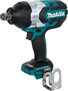 Makita XWT07Z LXT Lithium-Ion Brushless Cordless High Torque Square Drive Impact Wrench, 18V/3/4