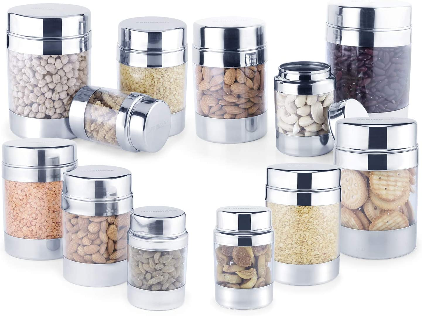 sold out SPRINGWAY - Brand of Happiness Stainless Super sale period limited Po Grade and Steel Food