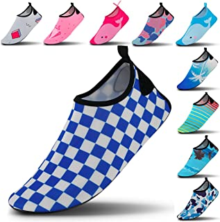 Vaincre Womens and Mens Water Shoes Quick-Dry Aqua Socks Barefoot for Outdoor Beach Swim Surf Yoga Exercise