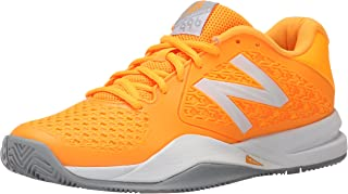 new balance blanche orange fluo
