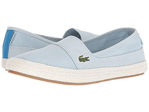 Lacoste Maurice 218 Slip On Espadrille In Yellow good selling cheap price F7TJKdddV