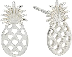 Alex and Ani - Pineapple Post Earrings