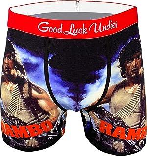 Good Luck Undies Men's Rambo Boxer Brief Underwear