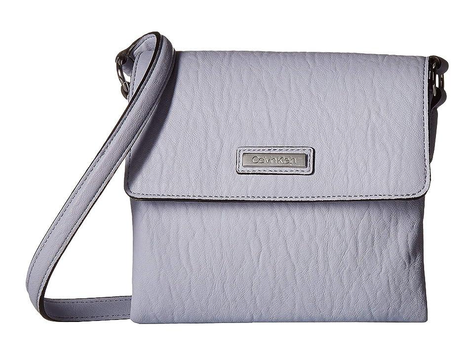 adffe67f40 Calvin Klein Bubble Lamb Novelty Original Crossbody (Ice Blue) Cross Body  Handbags