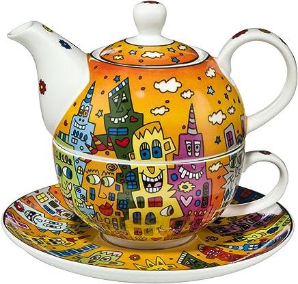 Preisvergleich für Goebel - Tea for One City Sunset 0,35 l 3-teiliges Set