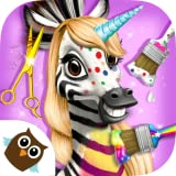 Bring your hair styling tools to the tropics & play animal summer makeover! A sequel of the best TutoTOONS game for kids with even more fun inside! Take care of 5 exotic friends: leopard, elephant, zebra, monkey & toucan! Braid leopard Amy's hair, do...
