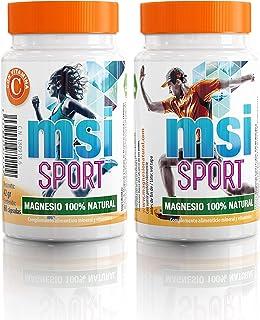 MSI Magnesio Natural con Vitamina C - 60 Cápsulas