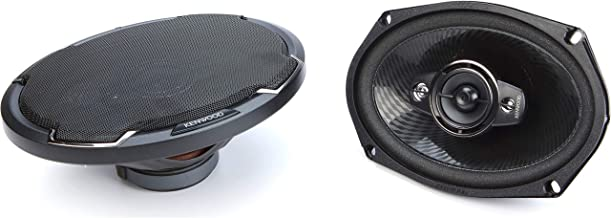 $69 » Kenwood KFC-6986PS 6 x 9 Inch 400W 3-Way Car Audio Flush Mount Coaxial Stereo Speakers, Pair