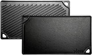 Lodge LDP3 Grill/Griddle, 16.75 in, Black