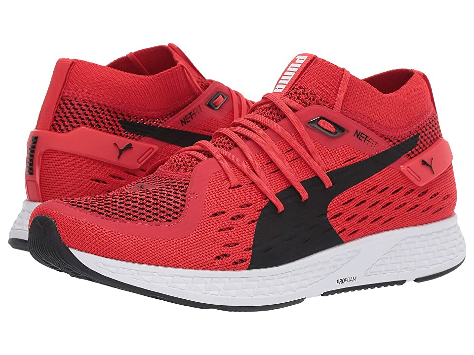 PUMA Speed 500 (High Risk Red/Puma Black) Men