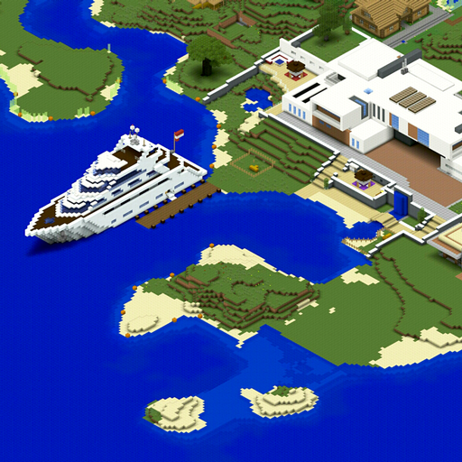 Miami Beach Maps for Minecraft