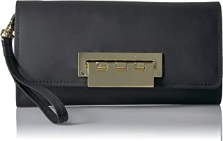 ZAC Zac Posen womens Eartha Iconic Large Phone Wallet - Solid Black Size: One Size