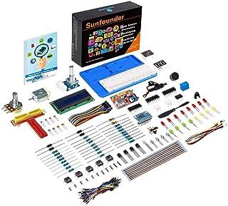 SUNFOUNDER Super Starter Learning Kit V3.0 for Raspberry Pi 4 Model B 3B+ 3B 2B B+ A+ Zero Including 123-Page Instructions...