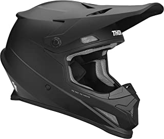Thor Crosshelm Sector MX Enduro Motocross Helm schwarz matt Gr. XXL
