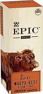 Sponsored Ad - EPIC Wagyu Beef Steak Strips Grass-Fed, Paleo Friendly, 20 ct, 0.8 oz Strips