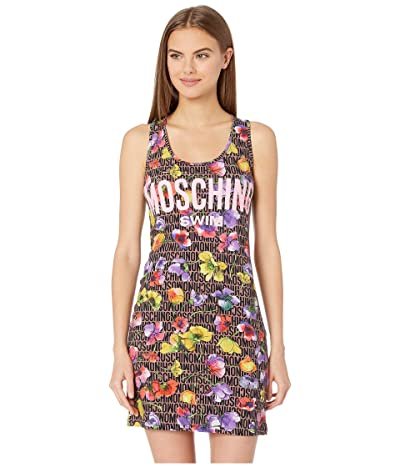 Moschino Jersey Stretch Dress Cover-Up (Flowers) Women
