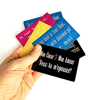 1 CARTA personalizzata da incidere + 1 BORSA in velluto; carta metallica VUOI SPOSARMI? testo, messaggio, nome grazie, scu...