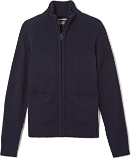 Boys' Zip Front Sweater