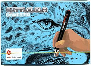 Cuttlelola 1 Drawing Pen, 1 USB Charging Lead, one Packet of Five Refills and Instructions, Black
