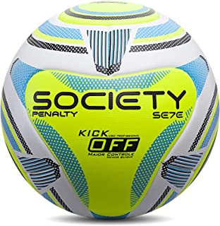 Bola Society Se7e R2 KO IX Penalty 69 cm Branco
