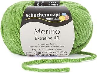 Schachenmayr Przędza do robienia na drutach Schachenmayr Merino Extrafine 40, 50G Apple Green