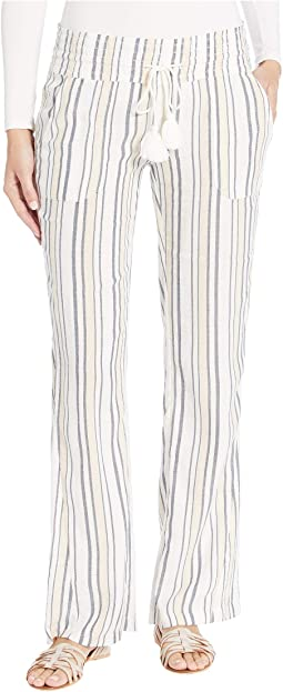 Marshmallow Long Day Stripes