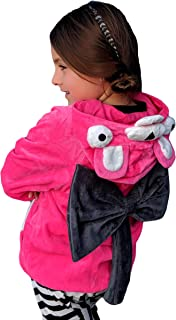 ComfyCamper Pink Bear Costume Hoodie for Boys Girls Kids Teens Youth and Adults (6-8 Years)