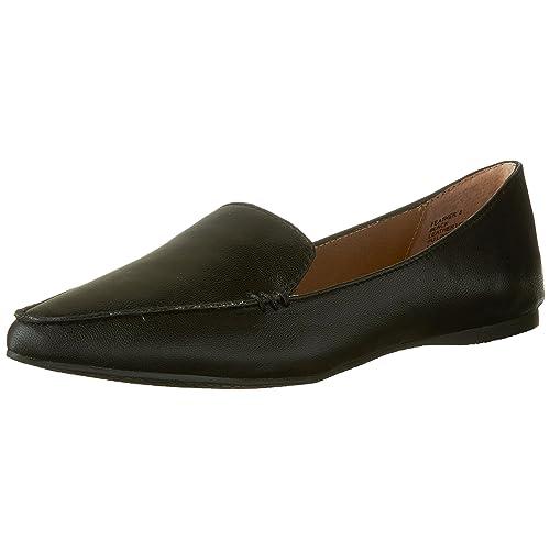 a714537a853 Steve Madden Women s Feather Loafer Flat