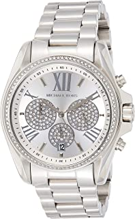 Michael Kors Womens Quartz Watch, Chronograph Display and Stainless Steel Strap MK6537