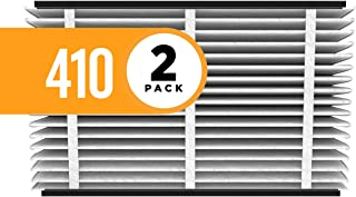 Aprilaire 410 Replacement Air Filter for Aprilaire Whole Home Air Purifiers, Clean Air Dust Filter, MERV 11 (Pack of 2)
