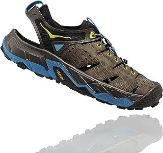 HOKA ONE ONE Men's Tor Trafa Hiking Sandal,Major Brown/Black Olive,US 10 M