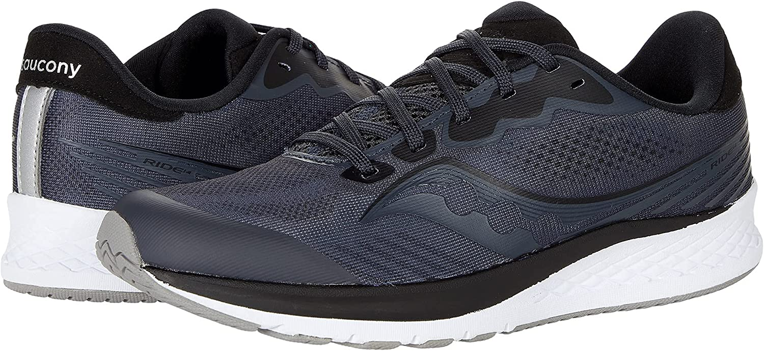 Saucony Ride 14 Running Beauty products Shoe Charcoal Big Black Unisex US 5.5 NEW before selling