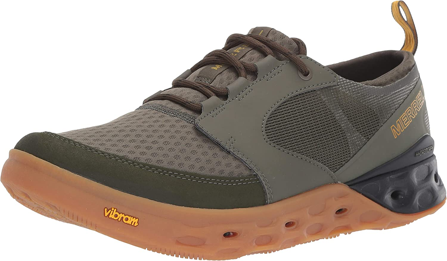 Merrell Men's TIDERISER LACE Water schuhe Olive 11.0 M US