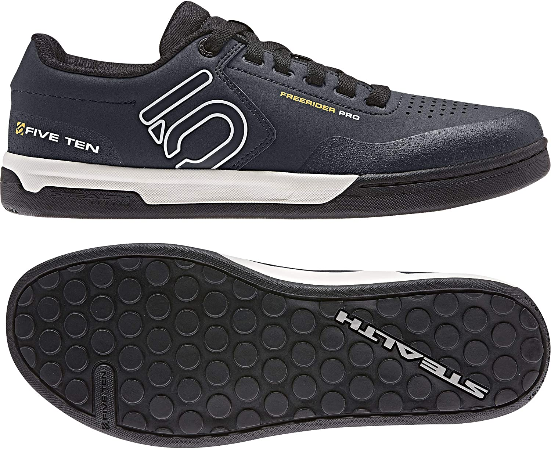 Five Ten MTB-Schuhe Freerider Pro Night Navy Cloud Weiß Collegiate Gold