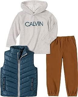Calvin Klein Boys' 3 Pieces Puffy Vest Set