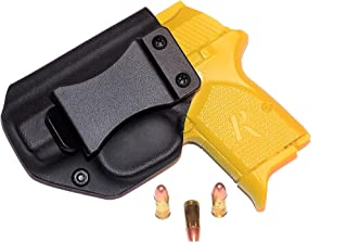 Aggressive Concealment RM380IWBLPBK-LH IWB Kydex Holster Remington RM380