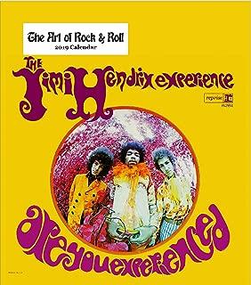 Retrospect Group The Art of Rock & Roll 2019 Desk Calendar (YCD 030)