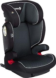 Safety 1st Road Fix Silla Coche Grupo 2 3 Isofix, crece con el niño 3-12 años (15-36 kg), Protección lateral segura, Ajuste fácil y seguro, color Pixel Black