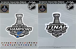 2019 Stanley Cup Final Champions and Payoffs St. Louis Blues Jersey Patch Combo