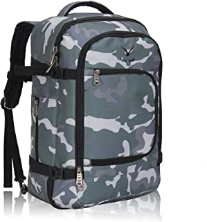 Hynes Eagle Travel Backpack 40L Flight Approved Carry on Backpack, Camo 2017 (Green) - HE0691-5N