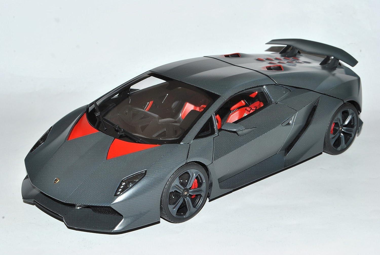 Lamborghini Sesto Elemento Karbon Grau 74671 1 18 AutoArt Modell Auto