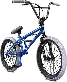 Mongoose Legion L40 Boy's Freestyle BMX Bike, 20-Inch Wheels, Blue