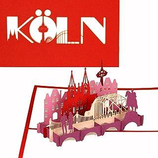 "3D Pop Up Karte""City Card Köln - Kölner Dom &a"