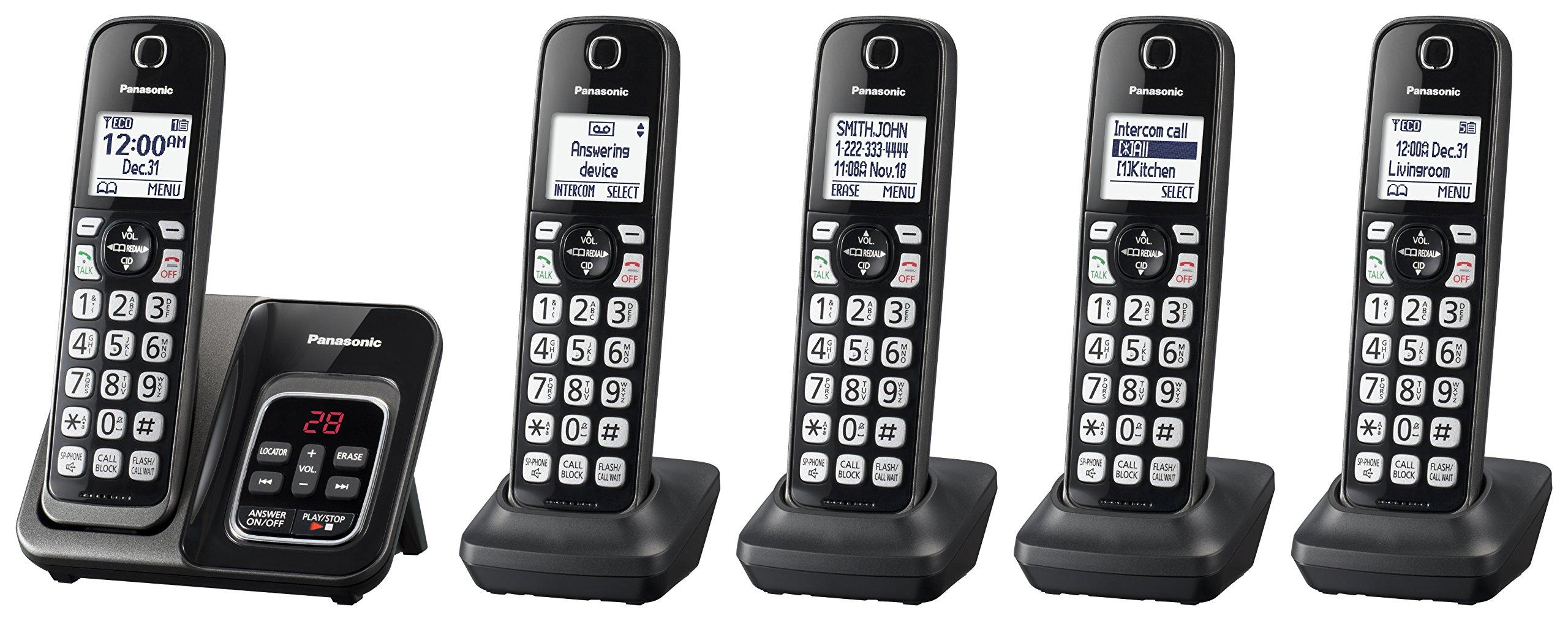 Panasonic KX TGD535M Expandable Cordless Answering
