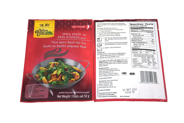 Asian Max 54% OFF Home Gourmet Thai Spicy cheap Ounce Fry Stir Basil 1.7