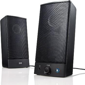 サンワダイレクト Bluetoothスピーカー 高音質 2ch ワイヤレス 有線 対応 スマホ PC 対応 ステレオ 400-SP057
