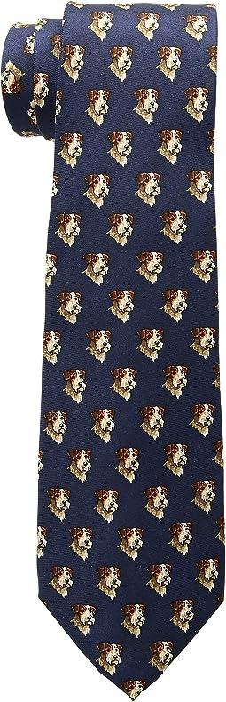 Terrier Print Tie