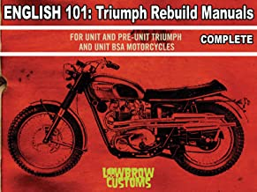Triumph Motorcycle Repair Manuals Complete Videos