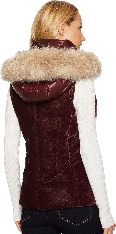 Marc New York by Andrew Marc womens Val Velvet Down Vest